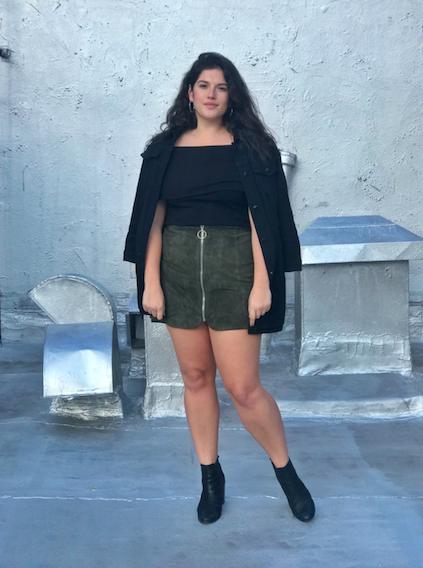 Female model photo shoot of Jocelyn Garrity