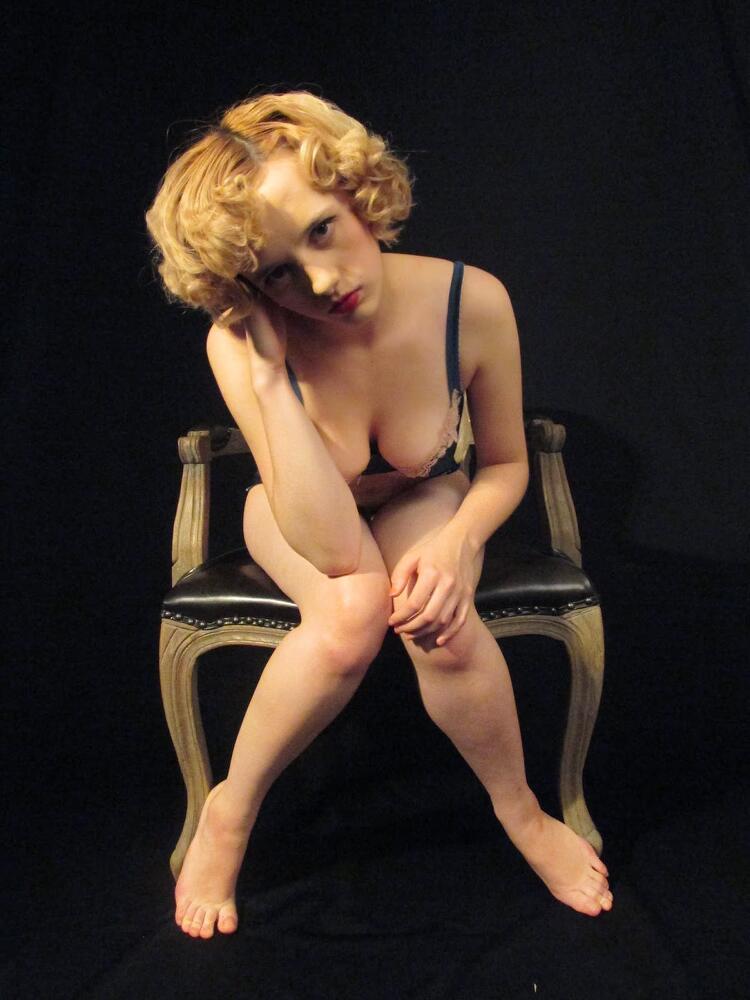 Male model photo shoot of LLBay Art