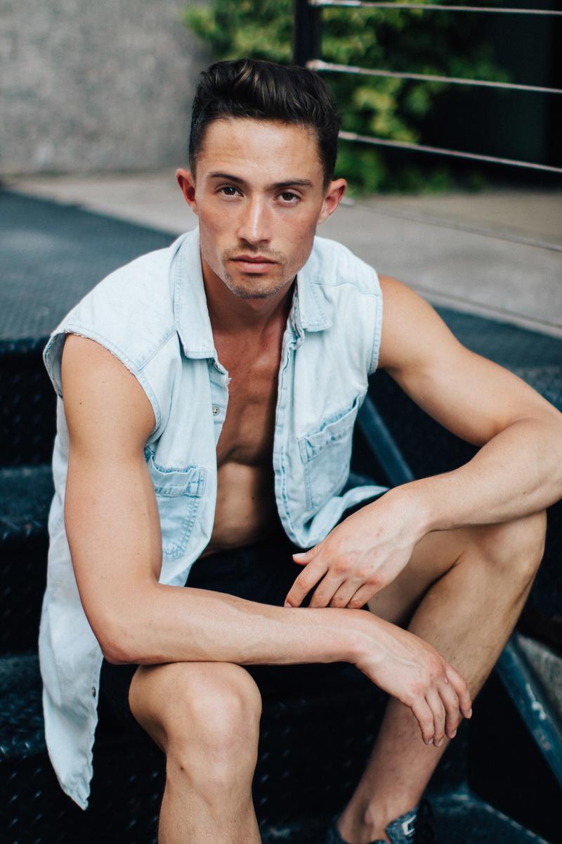 Male model photo shoot of eddieryoohki and JPat in New York, New York
