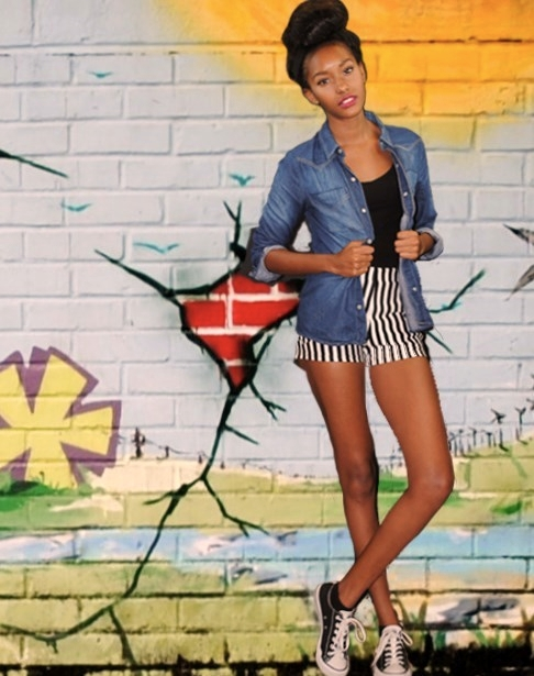 Female model photo shoot of A Rosebud Photo