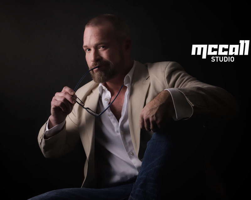 Male model photo shoot of MccallStudio