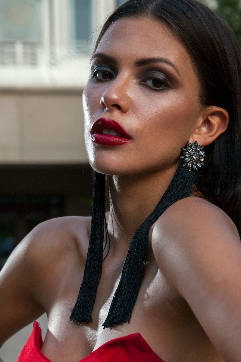 Female model photo shoot of bettsoni