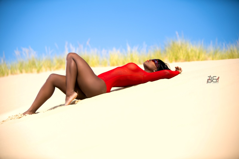 Male model photo shoot of BadBodiez in Mt Baldy Dunes