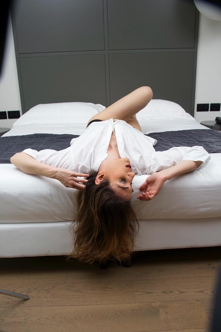Female model photo shoot of Aliensandra Bisi