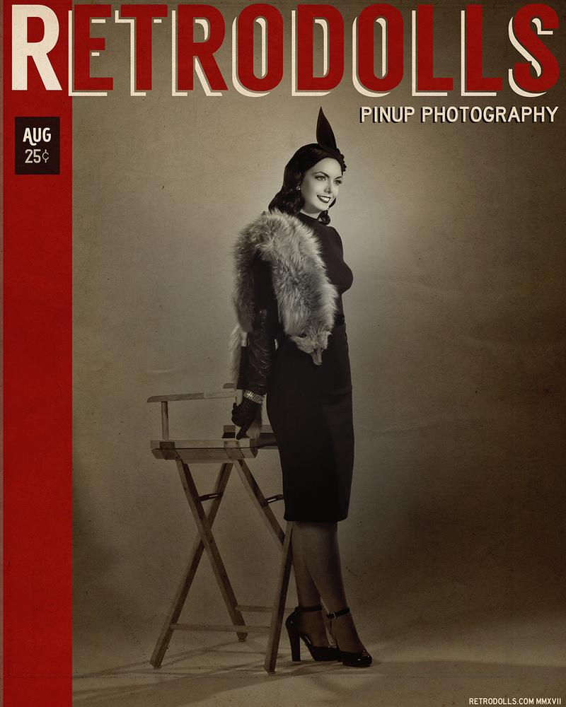 0 model photo shoot of Retrodolls Pinup Photo