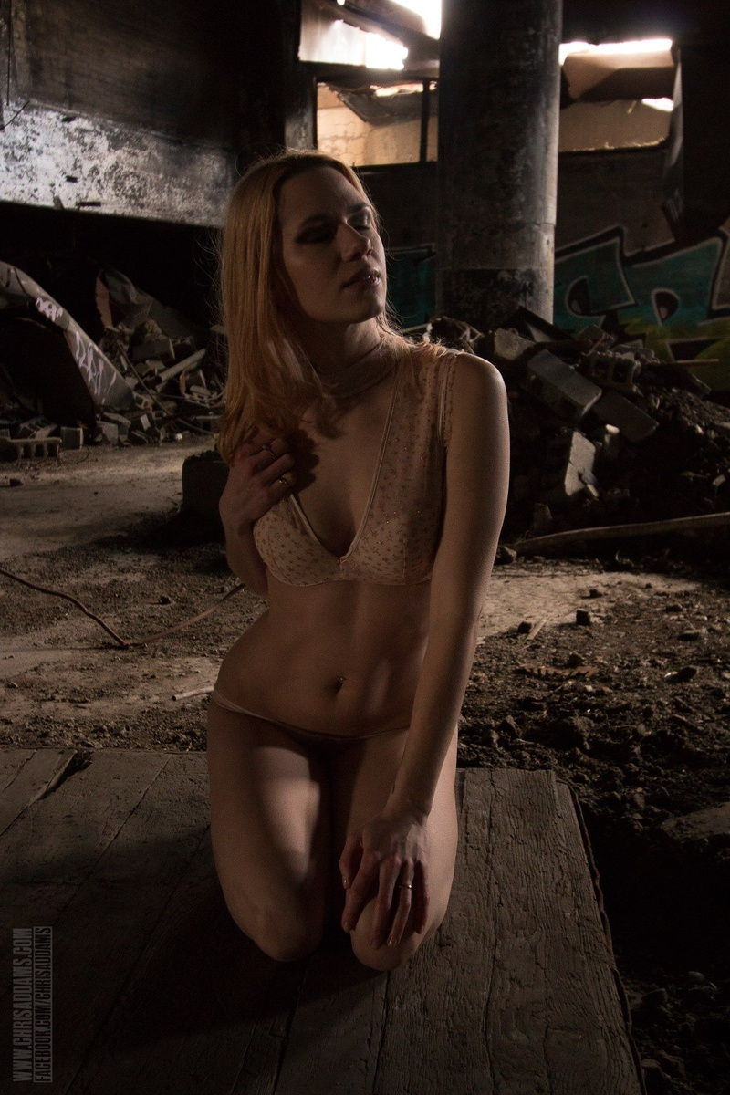 Female model photo shoot of lilithblackmoon20 in Abandoned Building
