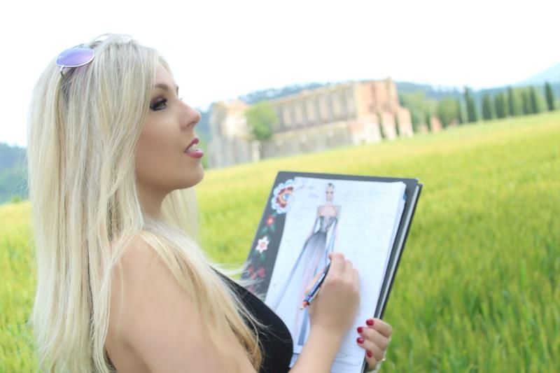 Female model photo shoot of Kristine Vitali