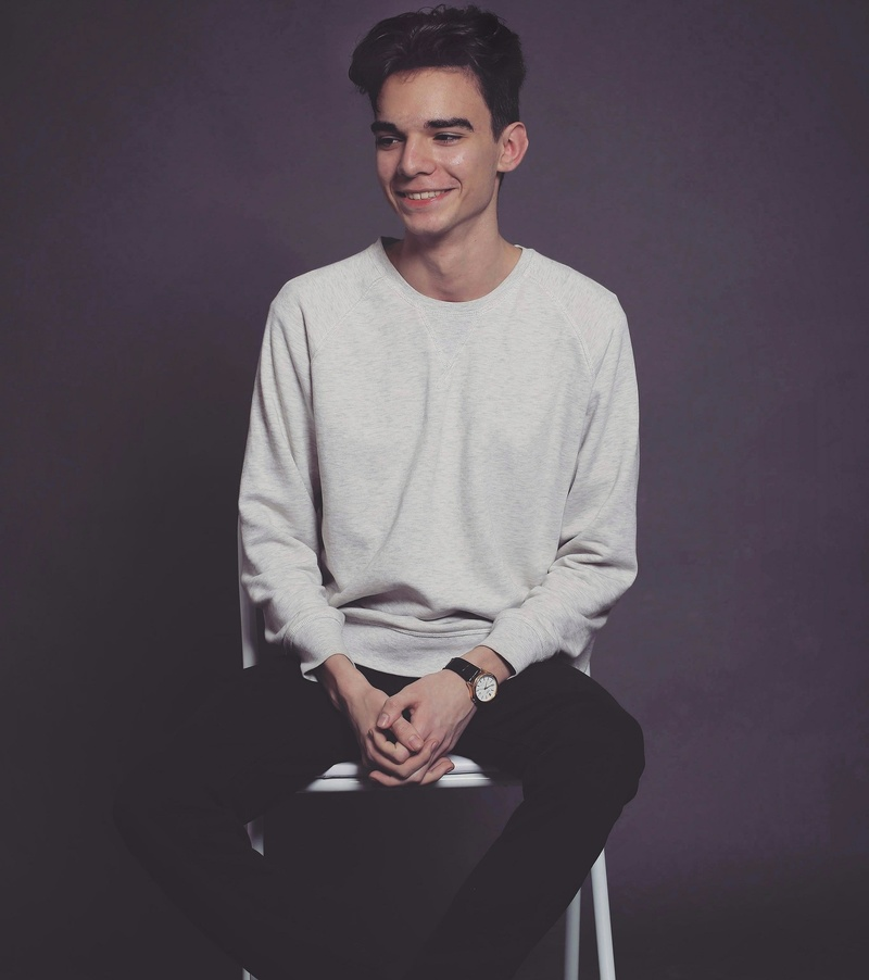 Male model photo shoot of Visan Mihai