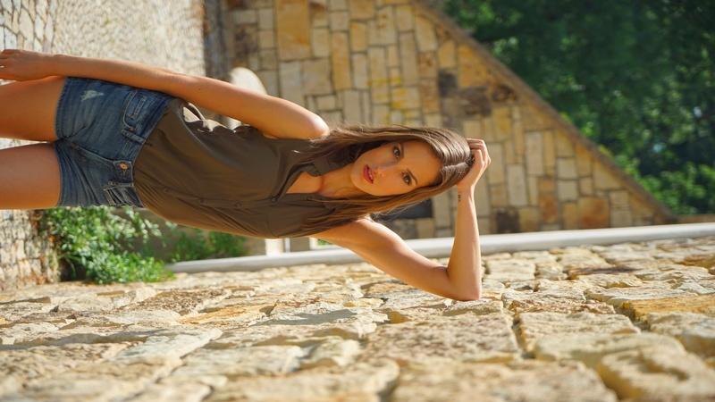 Female model photo shoot of kristytheadventurer in prague