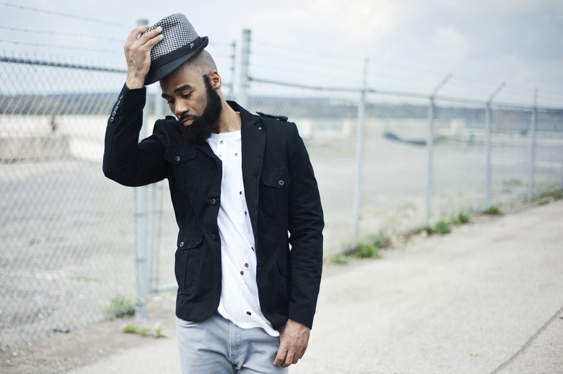 Male model photo shoot of GAJE in Hamilton Pier 8