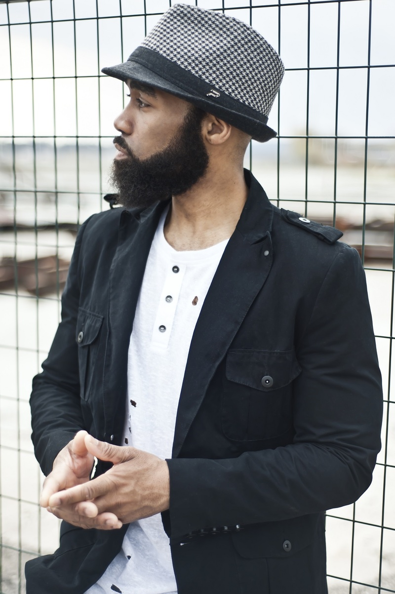 Male model photo shoot of GAJE in Pier 8 Hamilton