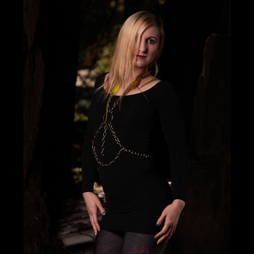 Female model photo shoot of jenni by RedwoodForest in Humboldt County, CA
