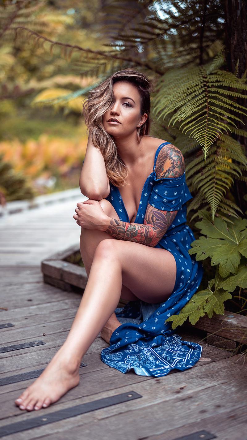 Female model photo shoot of _Nikki in San Francisco botanical gardens