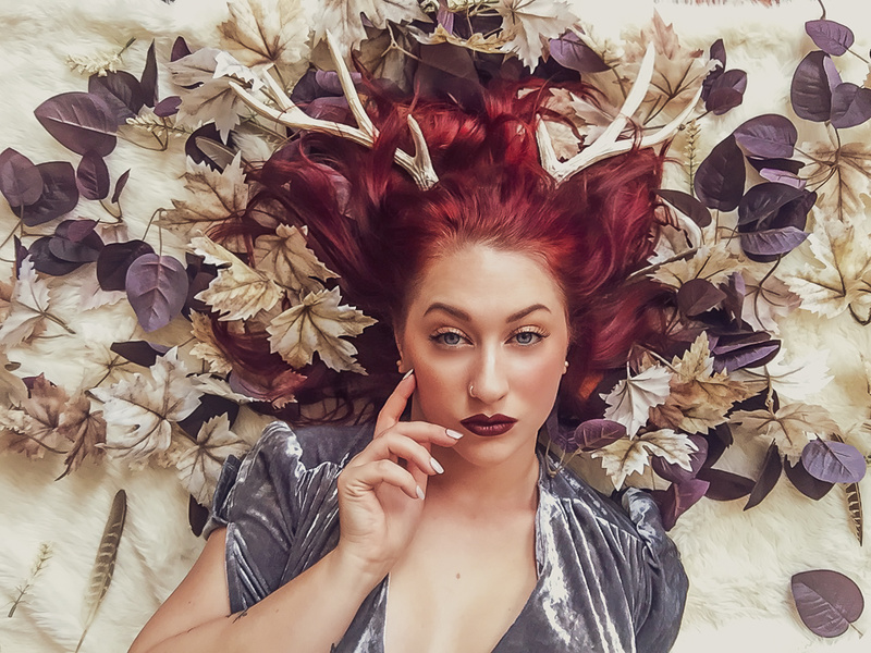 Female model photo shoot of Devonshire