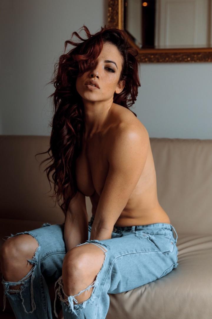 Female model photo shoot of RENE Clara