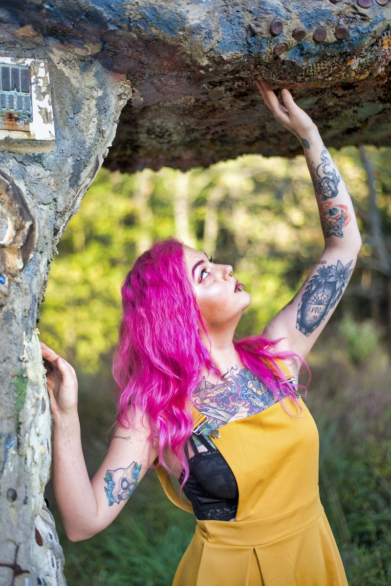Female model photo shoot of VibeRyder by Relaxizm