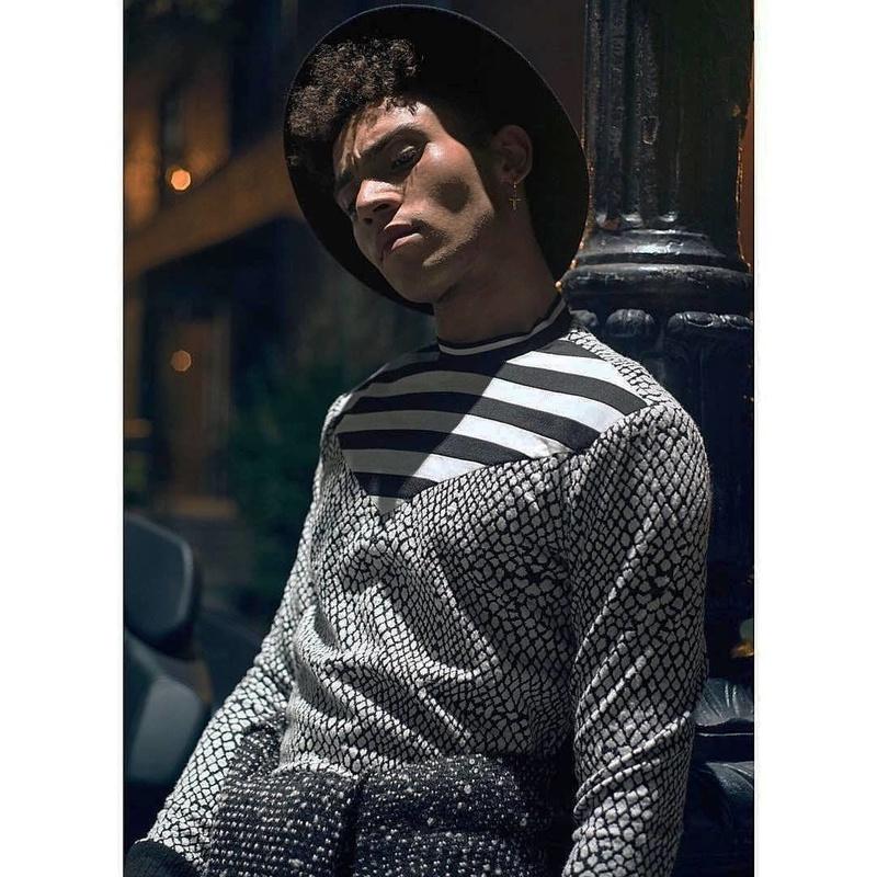 Male model photo shoot of RLC ROBERT in NEW YORK