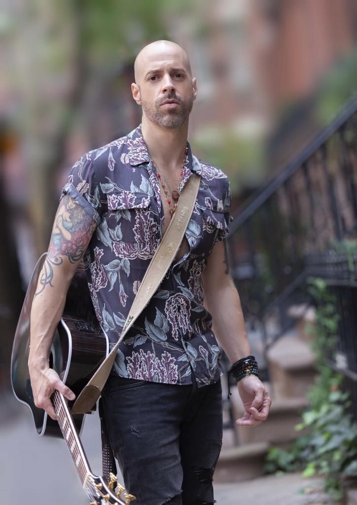 Male model photo shoot of Vaughn Stewart in Hudson St in NYC