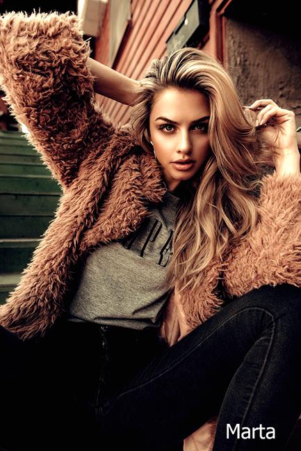 Female model photo shoot of Marta Fox
