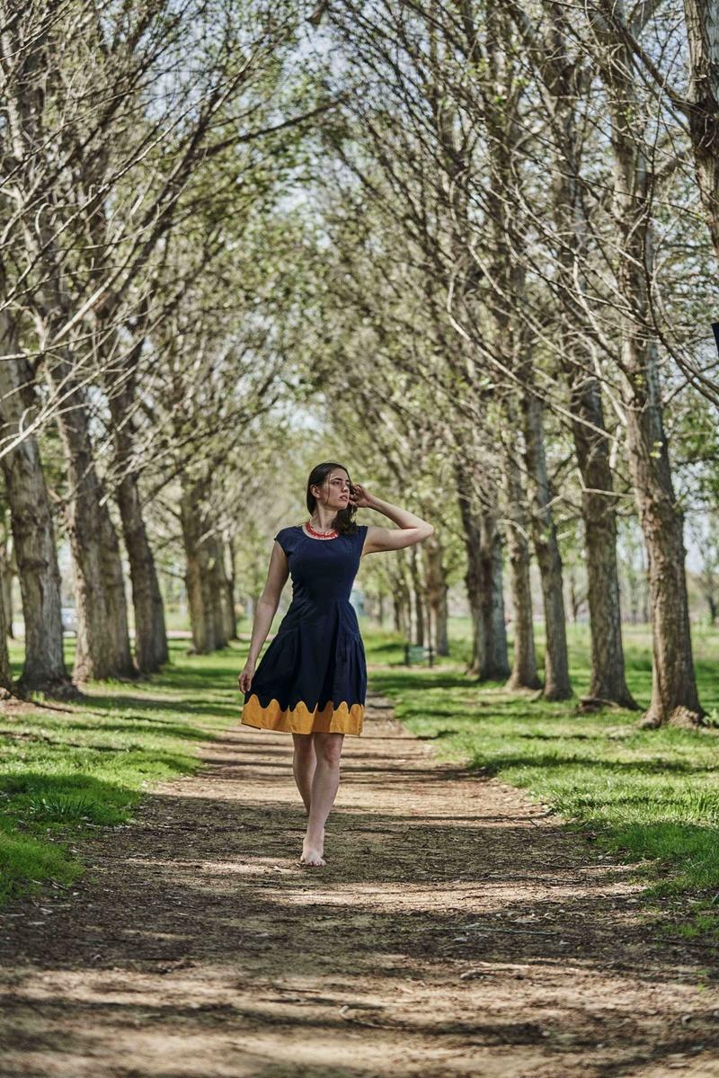 Female model photo shoot of idamayer by Christopher C Lee