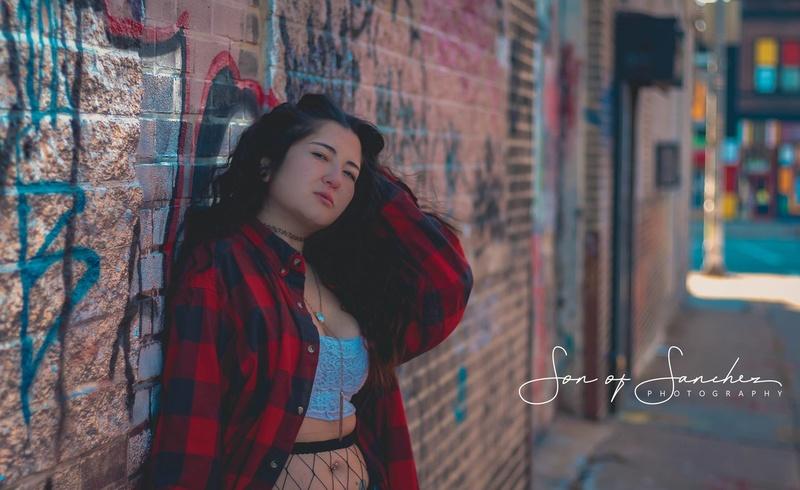 Female model photo shoot of cjeffers88 by Emerson Sanchez