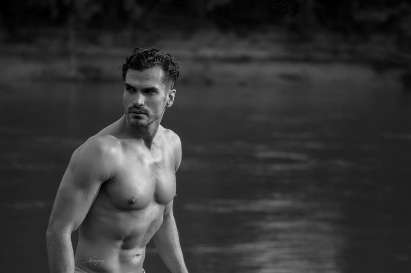 Male model photo shoot of Artemmodel