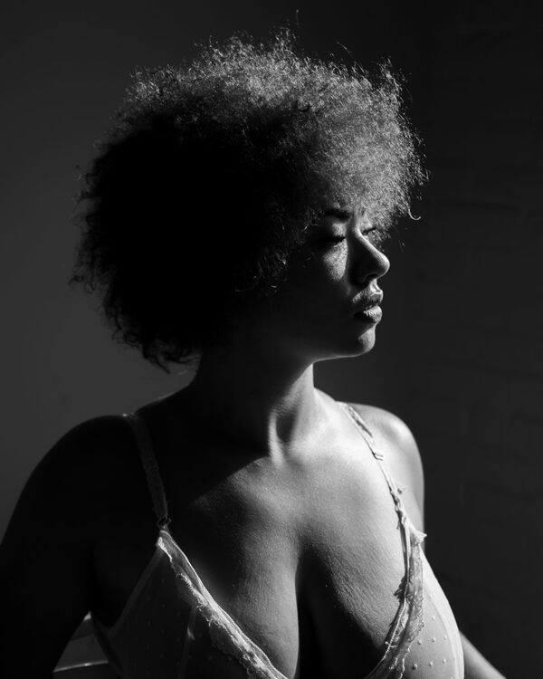 Female model photo shoot of J-Wolf