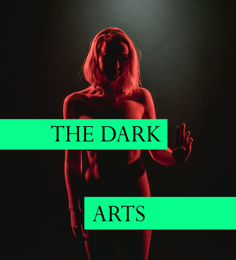 Male model photo shoot of The Dark Arts