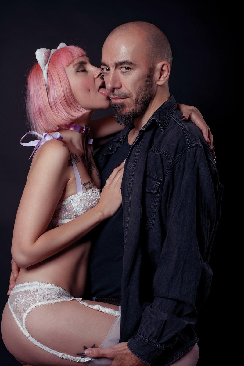 Female model photo shoot of Sascha Mein by Cristian Bucur