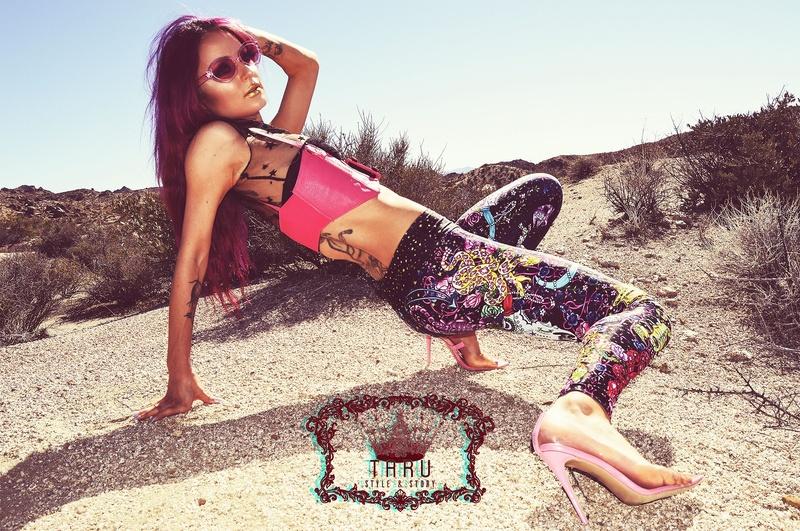 Female model photo shoot of House of Taru
