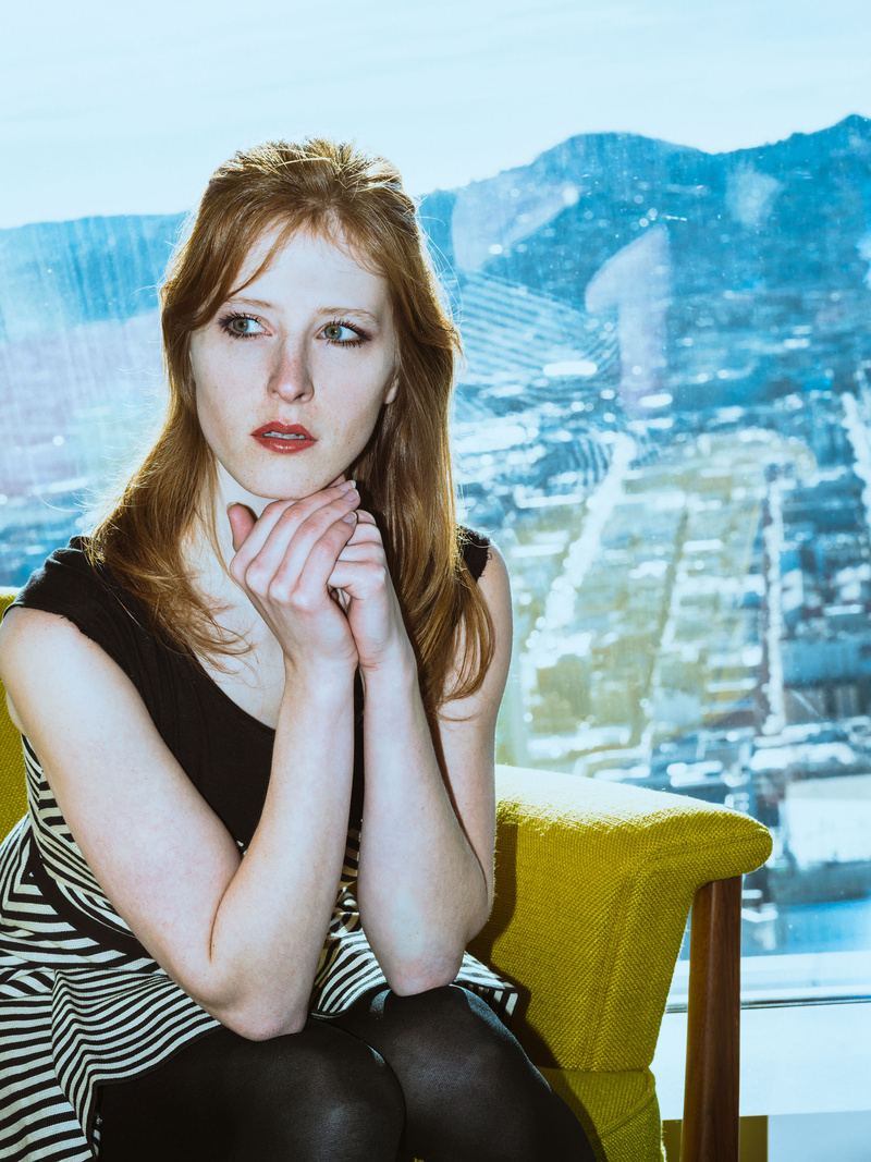Female model photo shoot of Ela C in San Francisco
