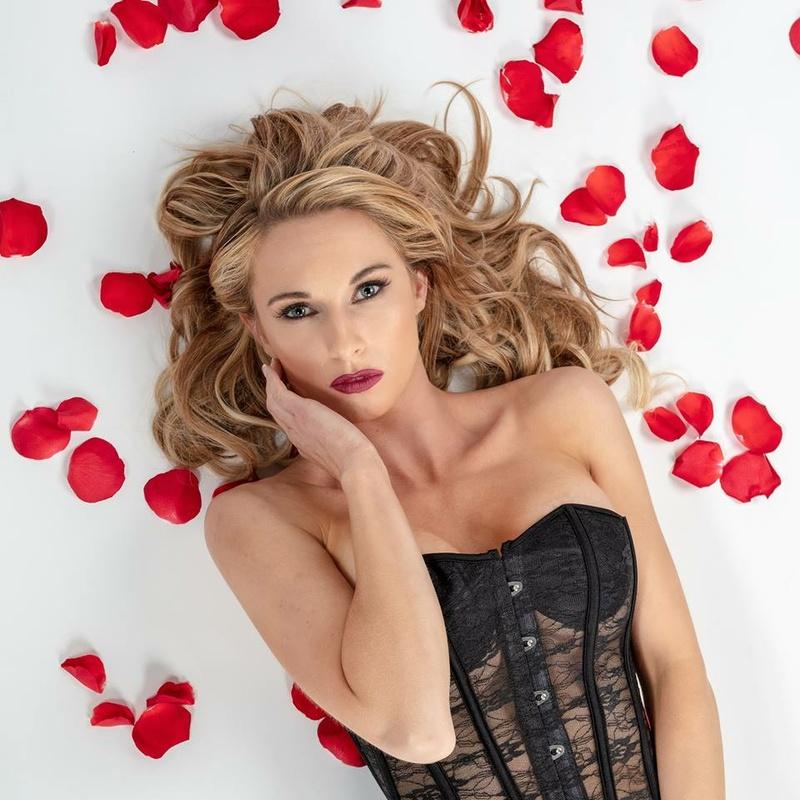 Female model photo shoot of Stephanie Gurne by Marty Wachi