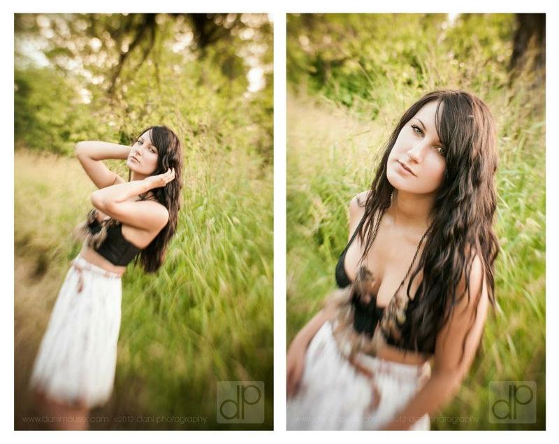 Female model photo shoot of Dani Benton Photography