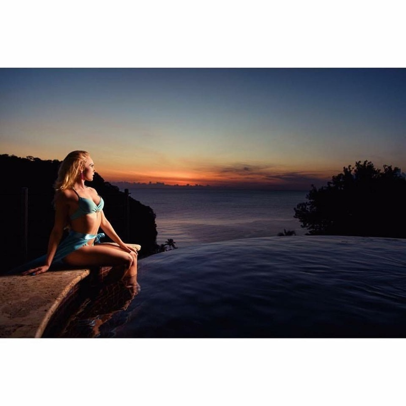 Female model photo shoot of Natalie Wilmshurst in St. Lucia