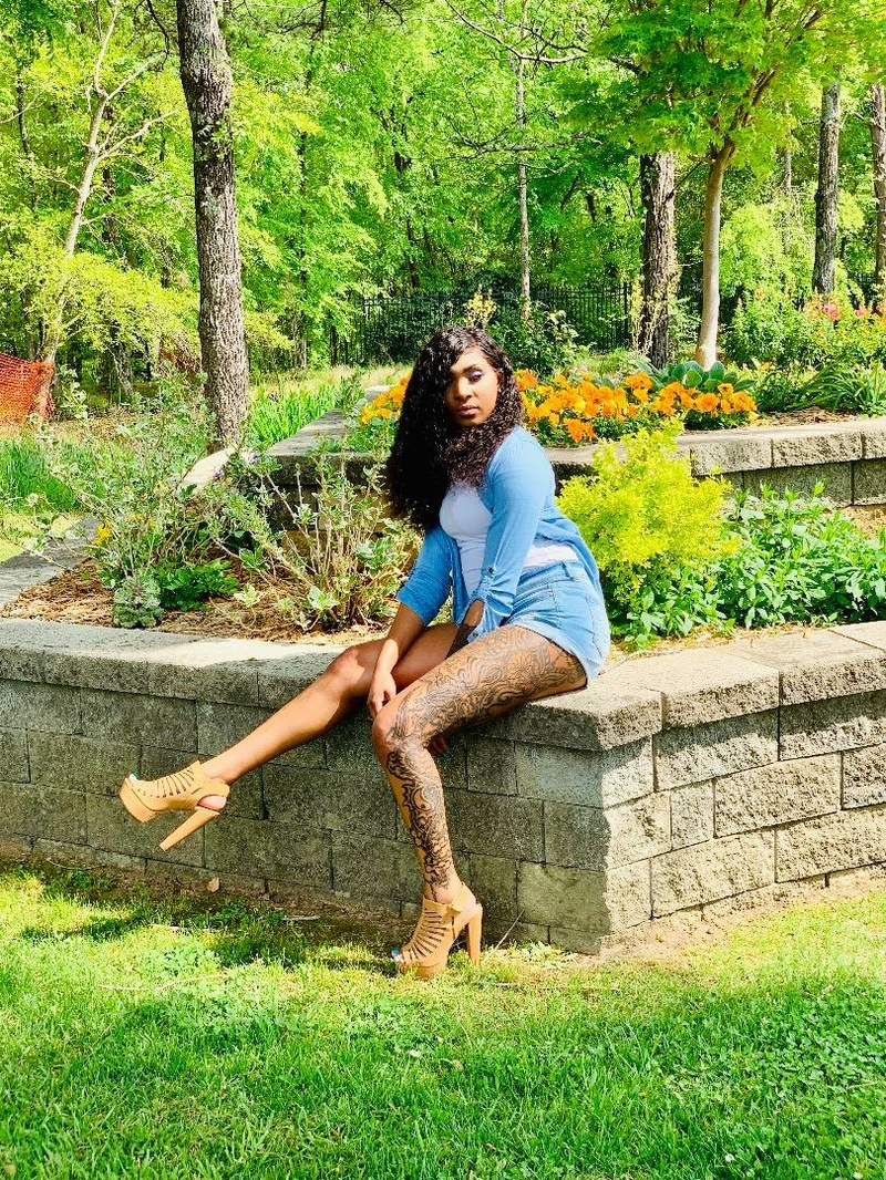 Female model photo shoot of LaShunte