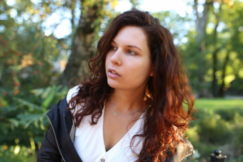 Female model photo shoot of Agnes Mora Art in Oslo