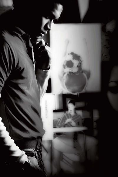Male model photo shoot of -ARt- in Jakarta