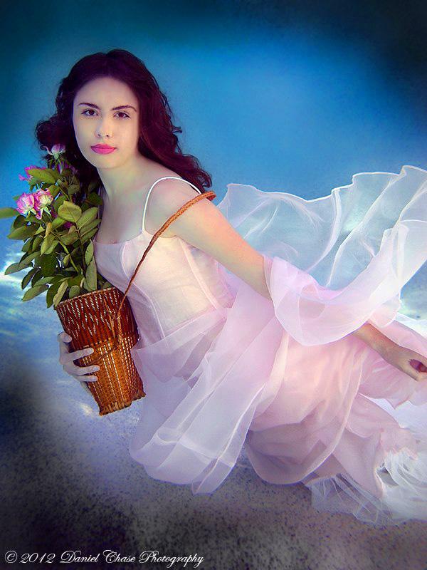 Female model photo shoot of Rose Pop
