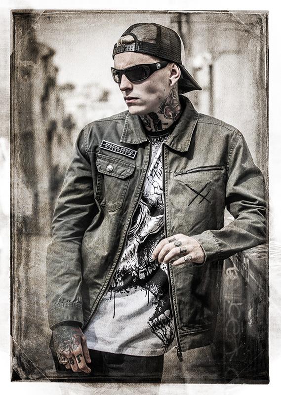 Male model photo shoot of Stef Hyraw