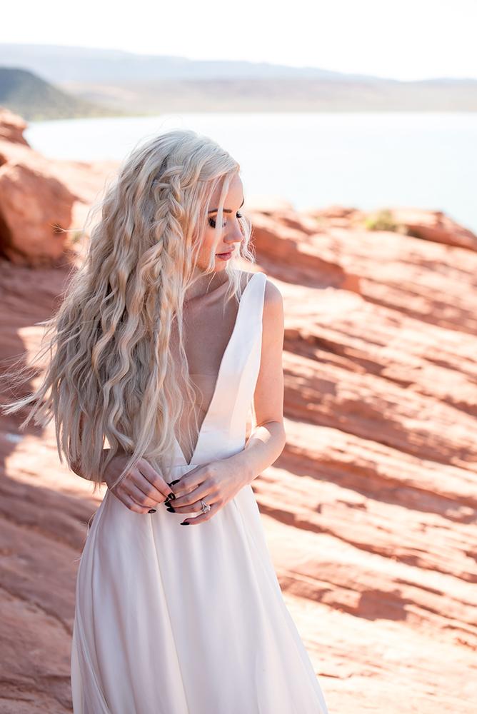 Female model photo shoot of Alicia Parks Studio