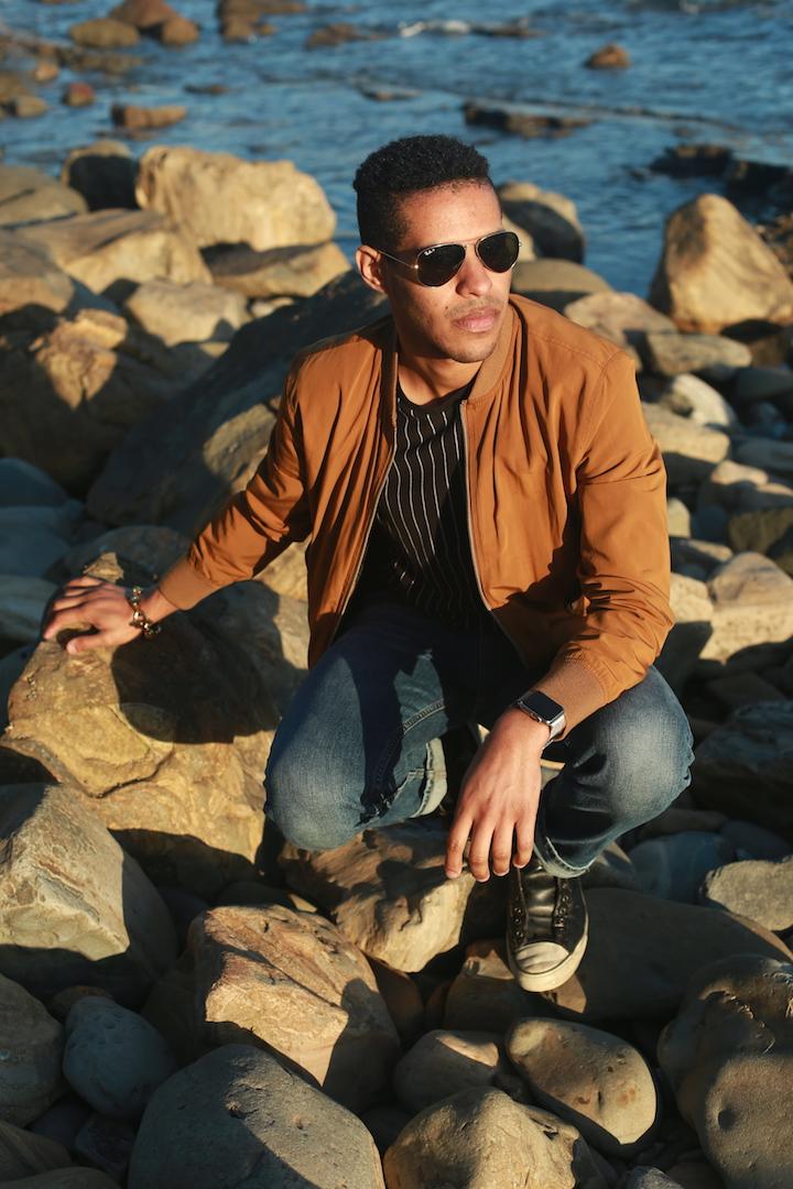 Male model photo shoot of Randy R Ruiz in San Pedeo
