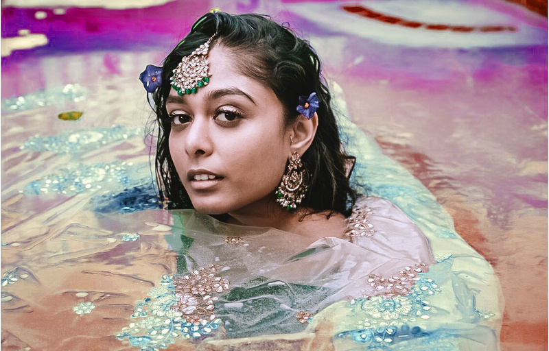 Female model photo shoot of Teeanna Nand