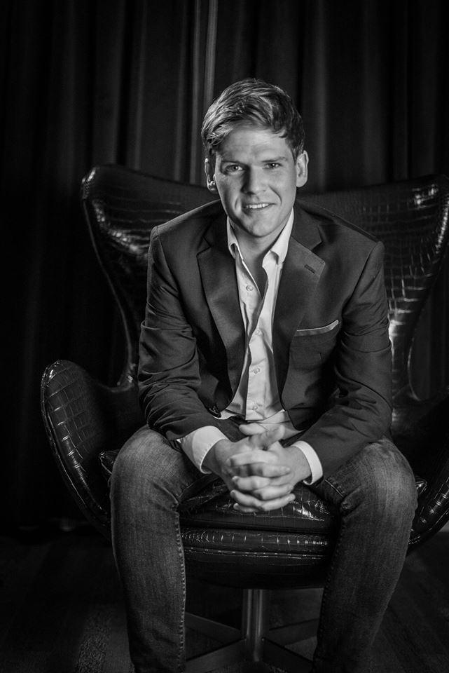 Male model photo shoot of BrycePreston in Minneapolis Grand Hotel