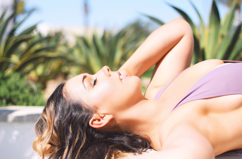 Female model photo shoot of Chelsea Alexandra  in Newport Beach, CA