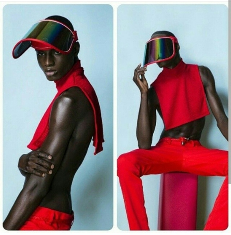 Male model photo shoot of Darrell Cortez Menswear