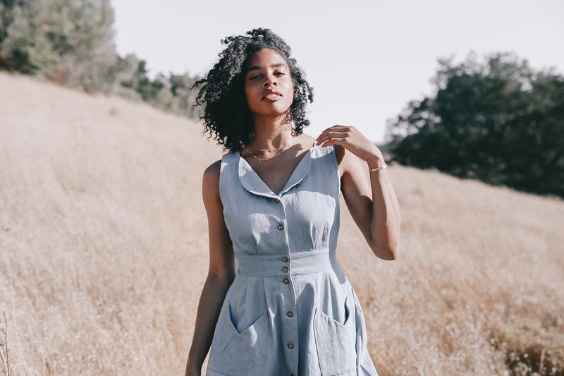 Female model photo shoot of Field Day