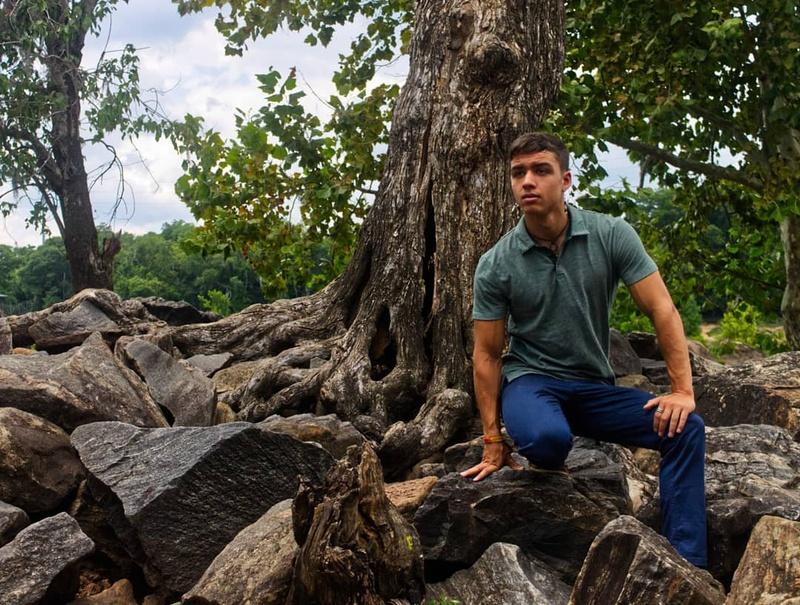 Male model photo shoot of LakotaStone