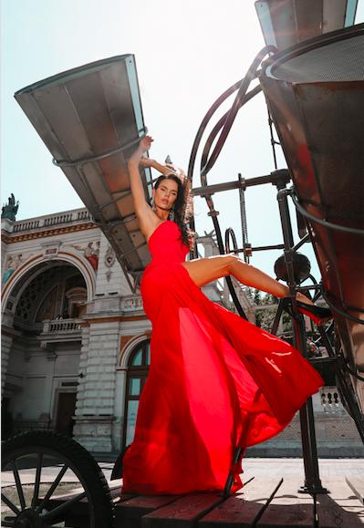 Female model photo shoot of Beus0819 in BUDAPEST