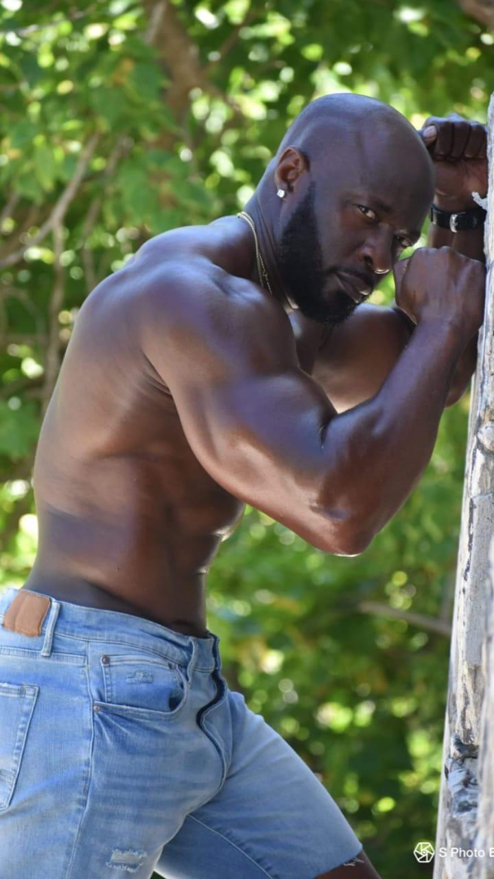 Male model photo shoot of optional