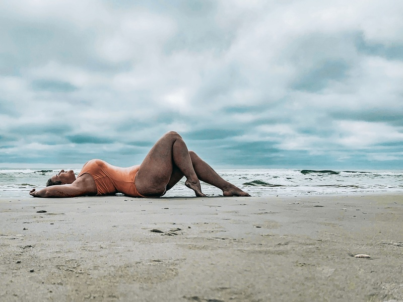 Female model photo shoot of PaigeMonroe  in Wrightsville Beach, NC